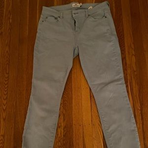 Vineyard vines skinny jeans light blue size 10